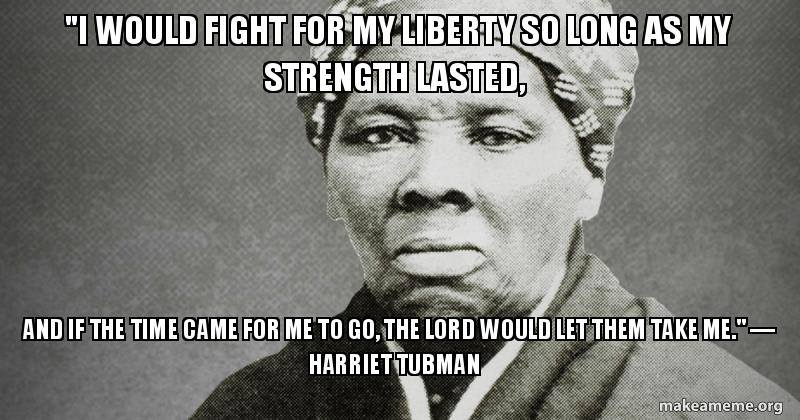 Harriet Tubman on Liberty