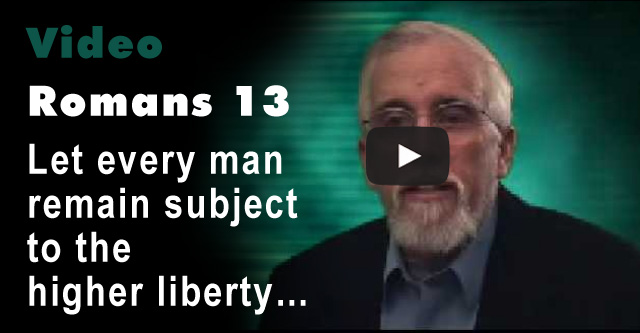 Romans 13 - Higher Liberty