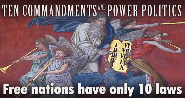 Politics and the Ten Commandments